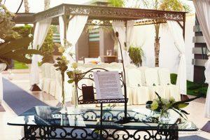 Celebración de bodas en jardines en Rojales