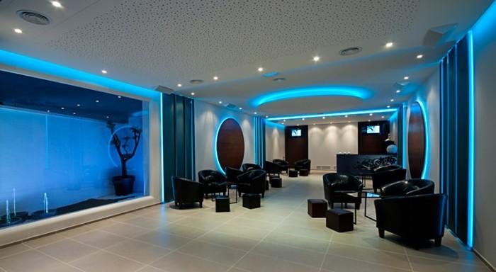 Espacio ebella lounge salones canario - Modelos de estores para salon ...